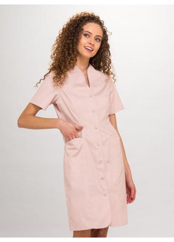 dress RÓŻA short sleeve