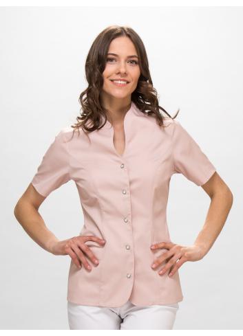 bluza RÓŻA, krótki rękaw