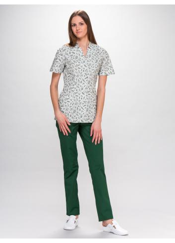 blouse IGA short sleeve