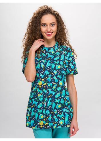 blouse PAULA short sleeve