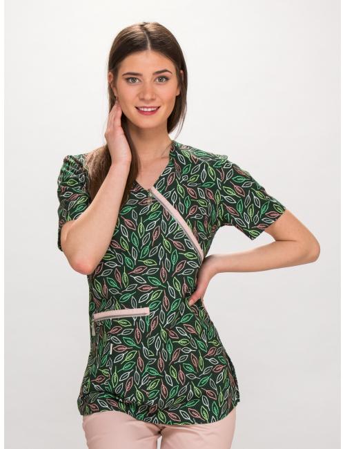 blouse TOLA short sleeve