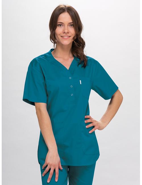 blouse AGATA FLEX short sleeve