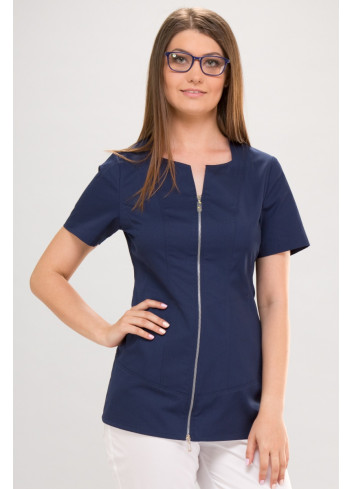 blouse KLARA short sleeve