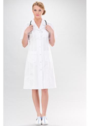 womens coat ADELA short sleeve