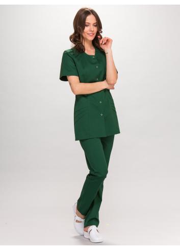blouse FLORA short sleeve