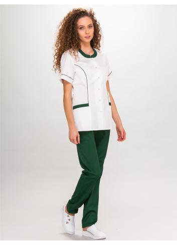 blouse LAURA short sleeve