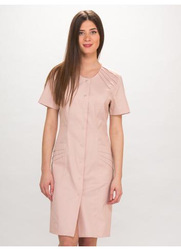sukienka FLORA krótki ręk.