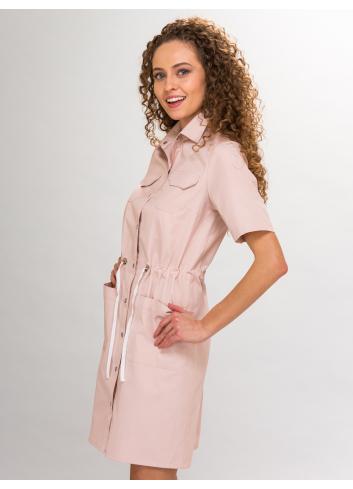 sukienka INEZ, krótki rękaw